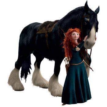 Merida with Angus