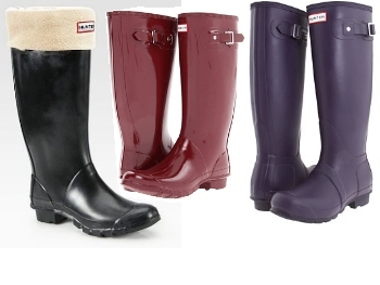 Waterproof and back in style: Hunter Boots
