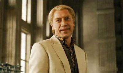 Javier Bardem as weird villain Silva