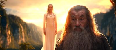 Galadriel and Gandalf