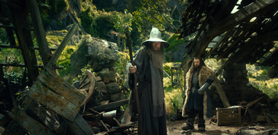 Gandalf and Thorin Oakenshield