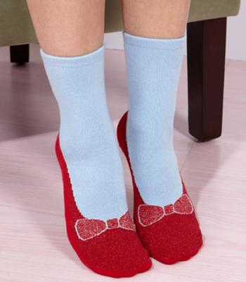 Slipper socks make you feel like there's no place like home!