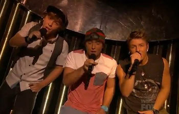 Emblem3 singing Baby I Love Your Way
