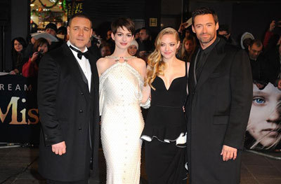 Russell, Anne, Amanda and Hugh at the London Premiere