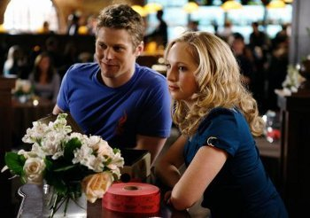 Vampire Diaries co-stars Zach Roerig and Candace Accola