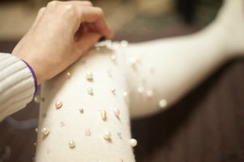 Pearls to Dot your Tights