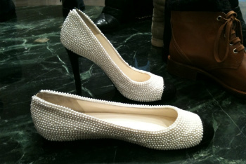 Classic Chanel Shoes-Pearlified!