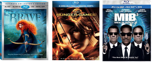 Your favorite Blu-rays!
