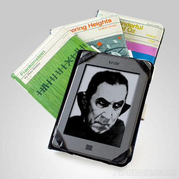 You can get classics like Wuthering Heights and Dracula!