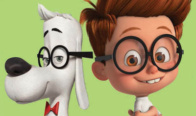 Mr. Peabody and his kid Sherman