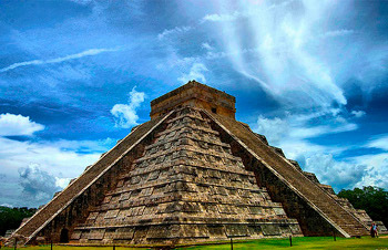Chichen Itza in the Yucatan (Mexico) is a famous Mayan ruin