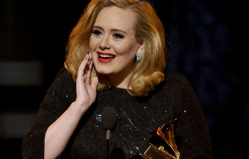 Adele won Record of the Year, Album of the Year and Song of the Year!