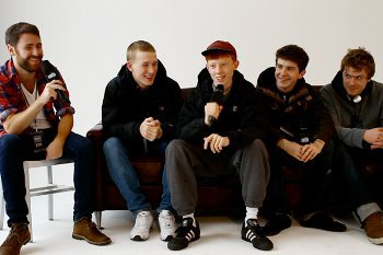 Archy Marshall and his band in an interview with TheFader.com.