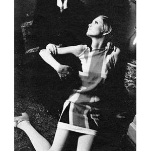 1960's British Style Icon Twiggy