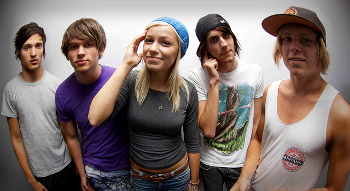 Jenna McDougall is the frontwoman for Aussie band Tonight Alive