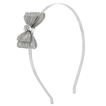 Silver Headband, courtesy of Elle