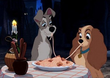 Lady and the Tramp on Blu-Ray