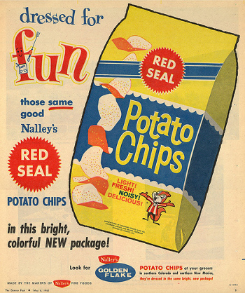 Potato chips were revamped with the addition of seasonings in the 1950s!