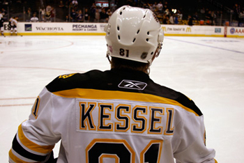 Kessel on the Boston Bruins