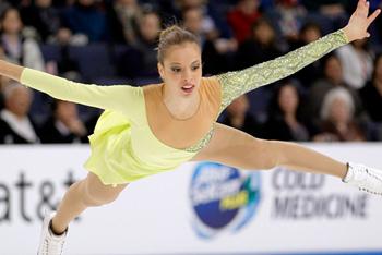 Float like a butterfly Carolina Kostner