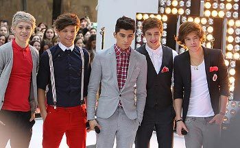 One Direction recently performed on Today!
