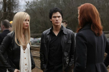 Rebekah, Damon and Sage