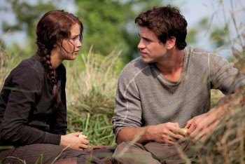 Katniss and Gale (Liam Hemsworth)