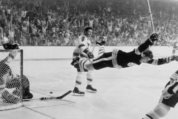 Bobby Orr's Famous Leap