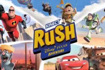 Kinect Rush: A Disney Pixar Adventure Box Art