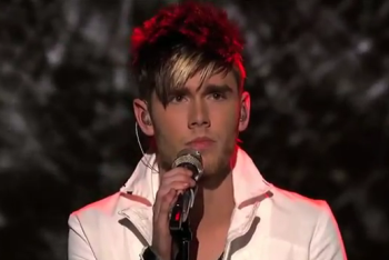 Colton Dixon Singing Lifehouse
