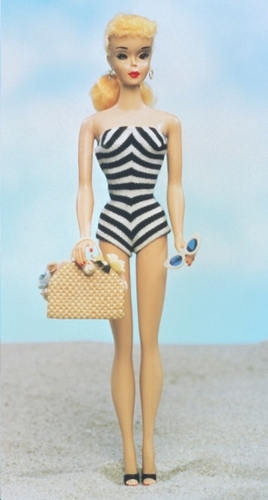The first Barbie debuted at the American International Toy Fair in 1959