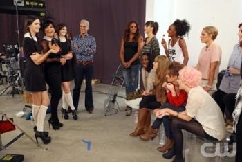 Top models meet Kris Jenner and her daughters