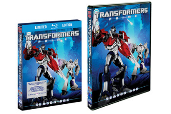 Transformers Prime: Season One on DVD and BluRay