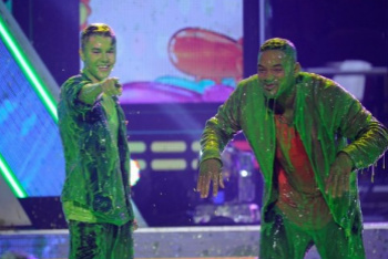 Justin Bieber and Will Smith
