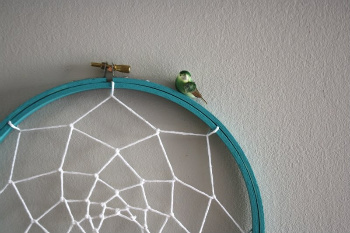 An Embroidery Hoop Works Well