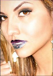 GlitzyLips lip foil tattoos