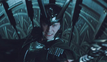 Tom as evil Loki