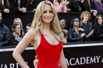 Jennifer at the 2012 Oscars