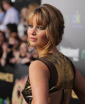 Jennifer at The Hunger Games Premiere