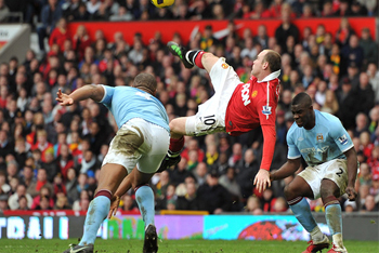 Rooney Bicycle Kick