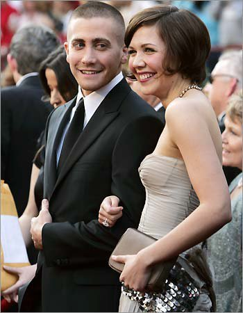Jake and Maggie Gyllenhaal once starred as brother and sister in a movie early in their careers
