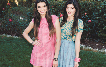 Models/sisters Kendall and Kylie Jenner do everything together