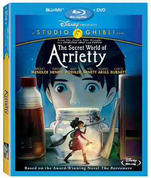 The Secret World of Arrietty Blu-ray