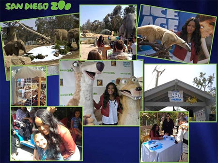 Keke Palmer at The San Diego Zoo