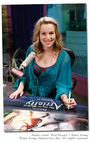 Bridgit signs Arrietty poster