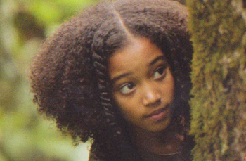 Amandla as Rue in The Hunger Games