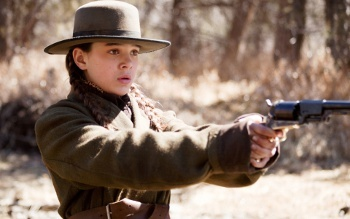 Hailee Steinfeld as determined dynamo Mattie in True Grit