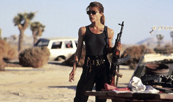 Sarah Connor in Terminator