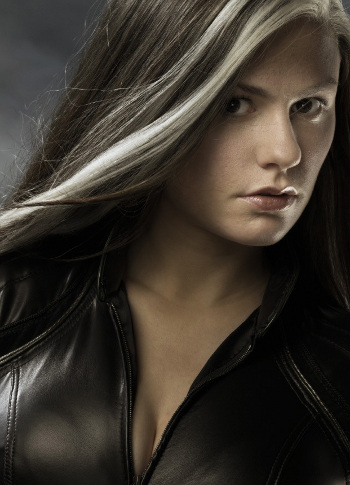 Anna Paquin plays Rogue, one of the original X-Men