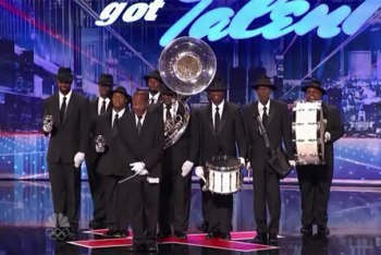 The Distinguished Men of Brass on America's Got Talent 2012